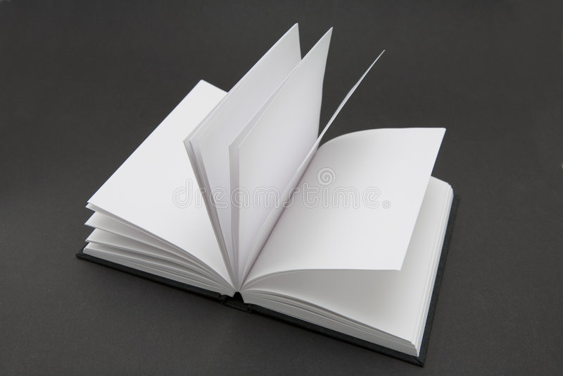 Unbelegtes Buch stockbilder