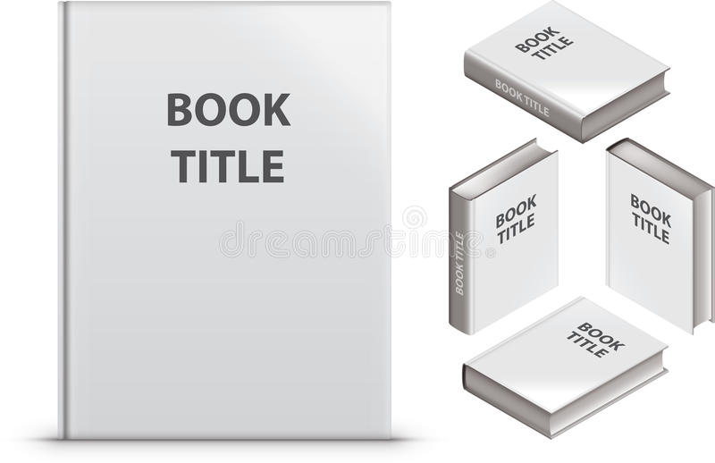Unbelegtes Buch stockbild