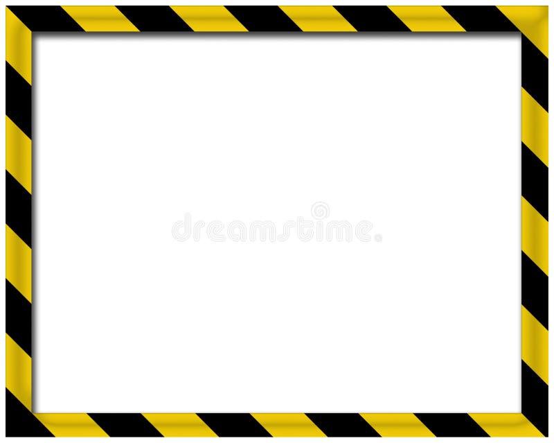 Unbelegtes Feld 3D stock abbildung