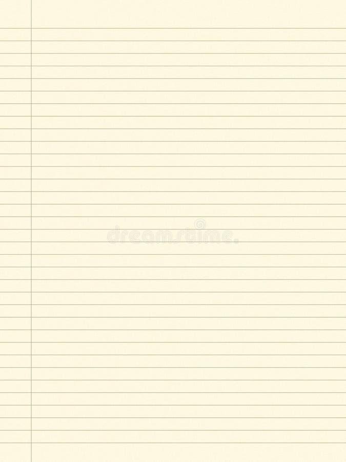 Unbelegtes Papier 3 stock abbildung