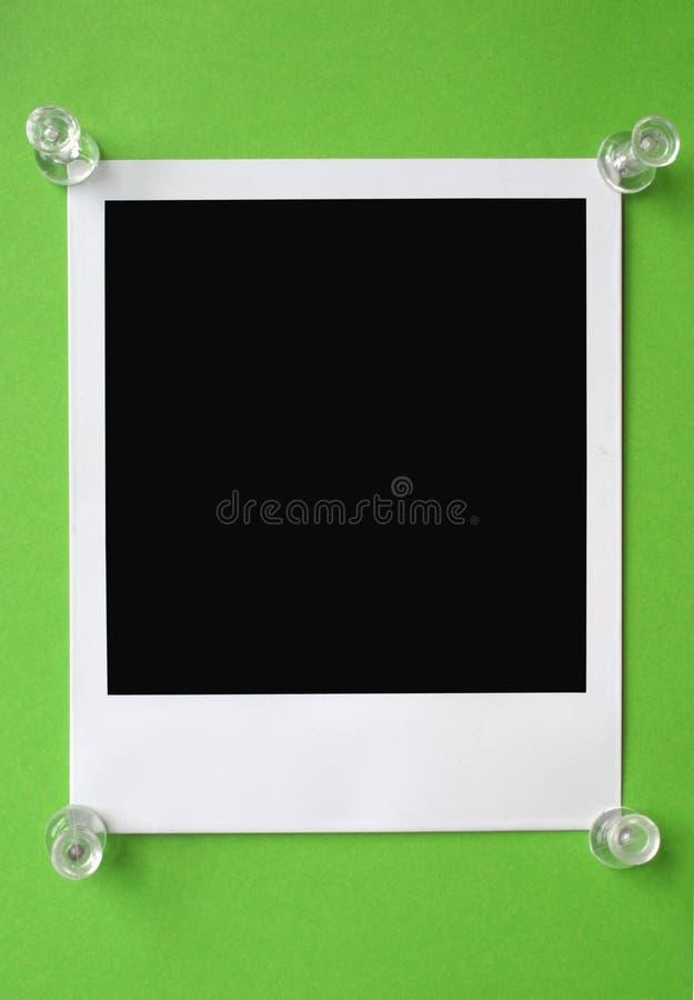Unbelegtes Polaroid stockbilder