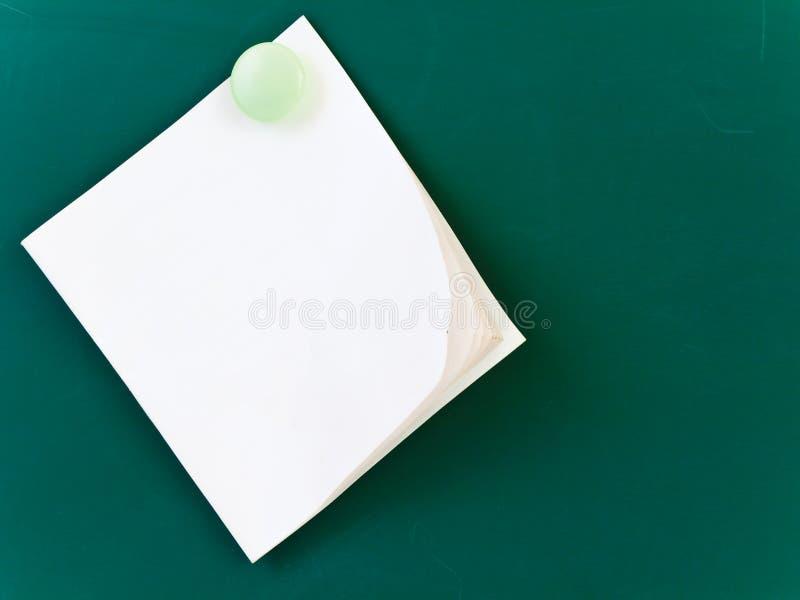 Unbelegtes Protokoll stockbilder