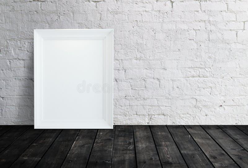Unbelegtes weißes Feld lizenzfreie stockfotografie