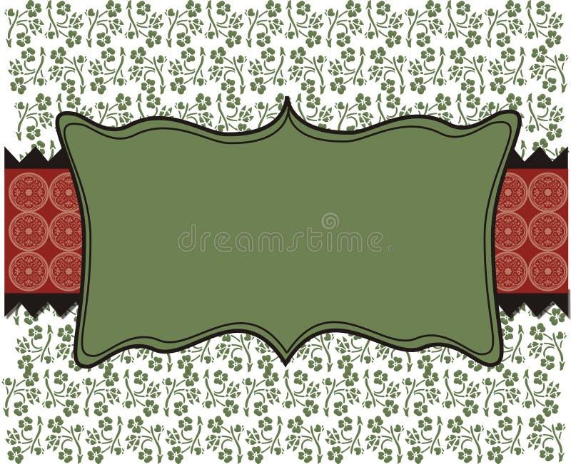 Unbelegtes WeihnachtsRetro- Hintergrund Tapete Lizenzfreie Stockfotos