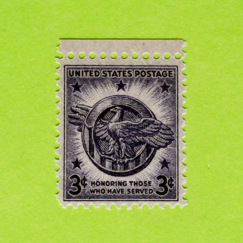 Unbenutzte Briefmarke Weinlese USA lizenzfreie stockfotografie