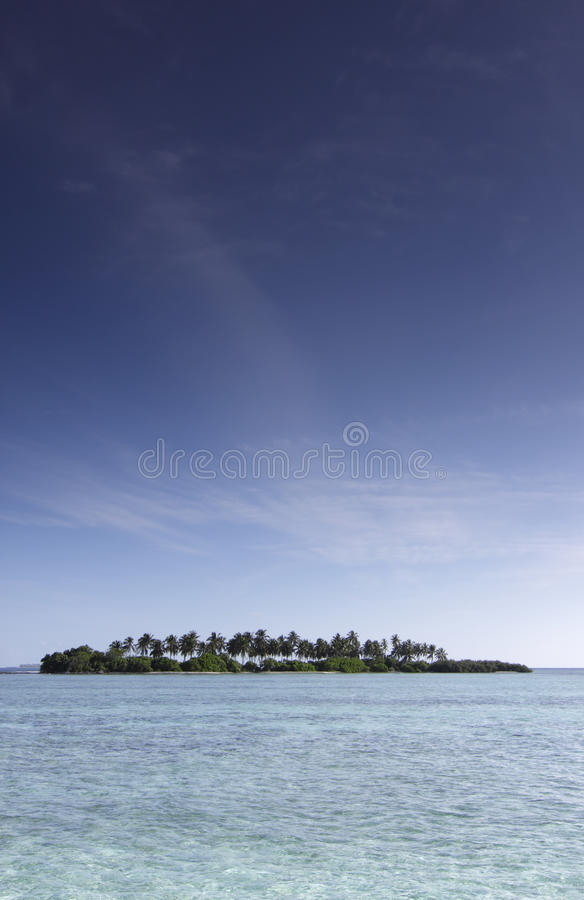 Unbewohnte Insel stockfotos