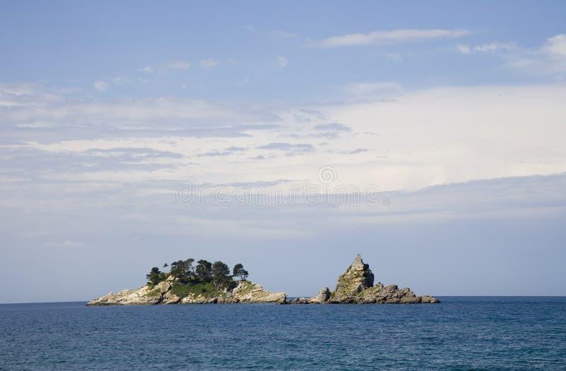 Unbewohnte Inseln 2 stockbilder
