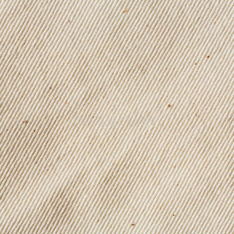 Unbleached muslintorkduketextur royaltyfri fotografi