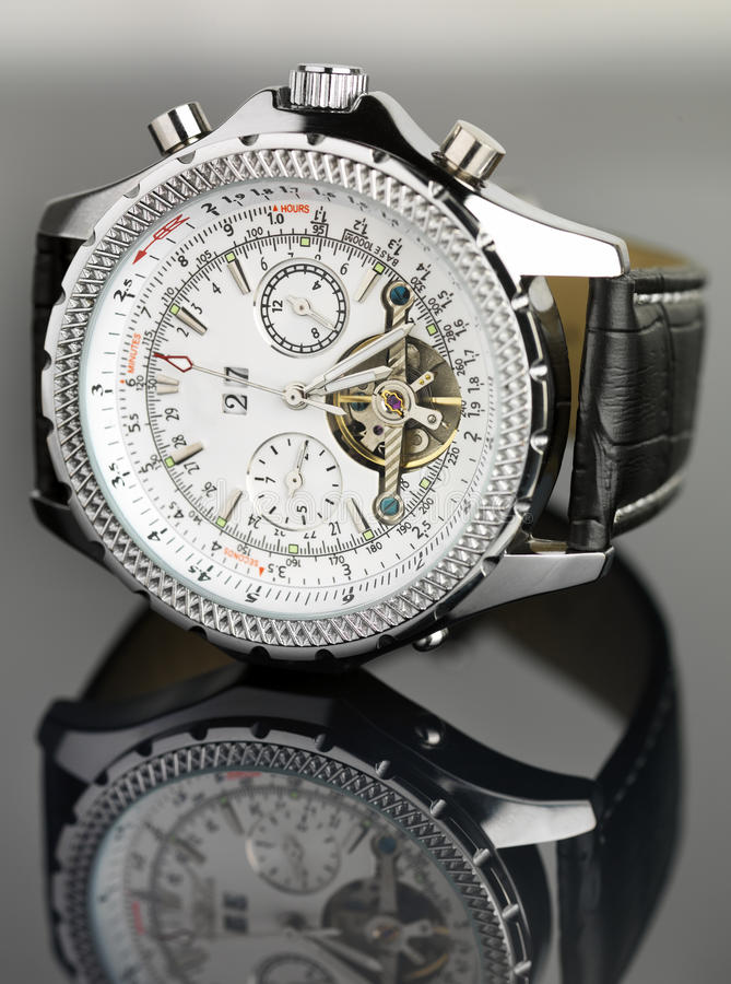 Free Unbranded Traditional Chronometer Watch Stock Photography - 15328372