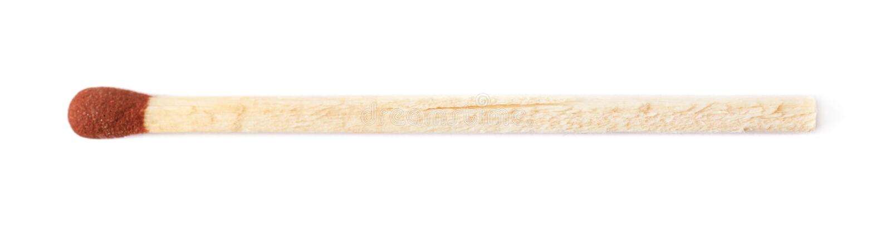 Unburnt match stick isolated stock photography
