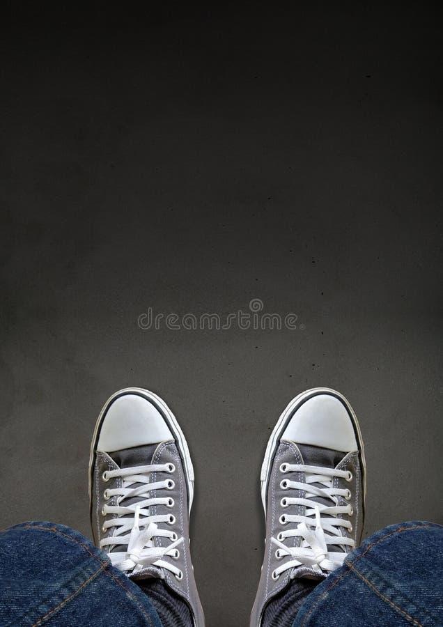 Uncertain Journey Concept stock photography