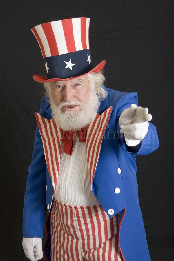 Uncle Sam stockfotografie