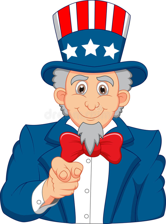 uncle sam cartoon wants you stock vector illustration of male rh dreamstime com uncle sam clip art images uncle sam clipart black and white