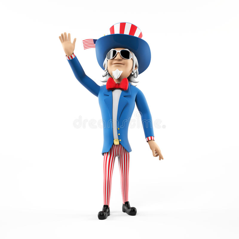 Uncle sam character
