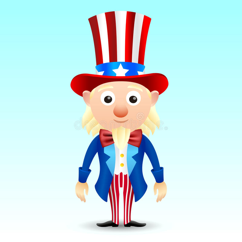 Download Uncle Sam character stock vector. Illustration of symbol - 39502269