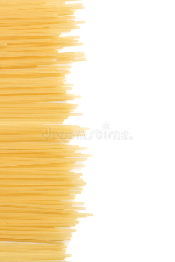 Download Uncooked Italian spaghetti stock photo. Image of dinner - 25510542