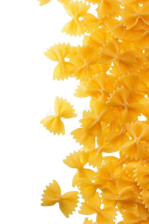 Farfalle pasta royaltyfria foton