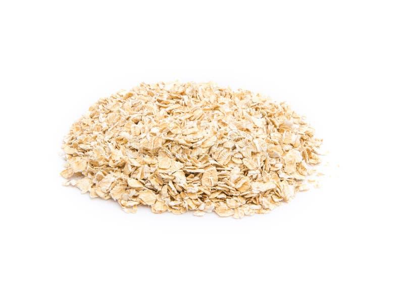 Uncooked oatmeal стоковое изображение rf