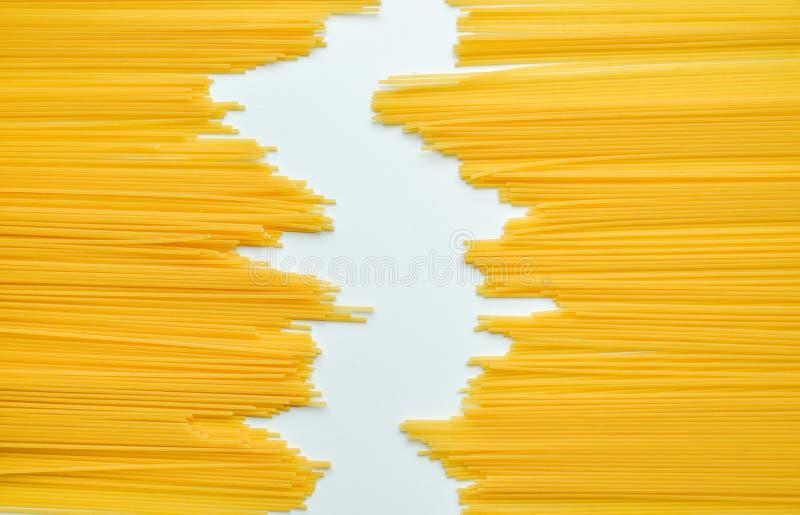 Download Uncooked Pasta Spaghetti Macaroni Isolated On White Background Stock Image - Image of ingredient, closeup: 89372515