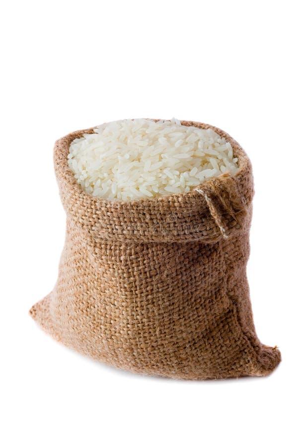 Uncooked rice stock photo