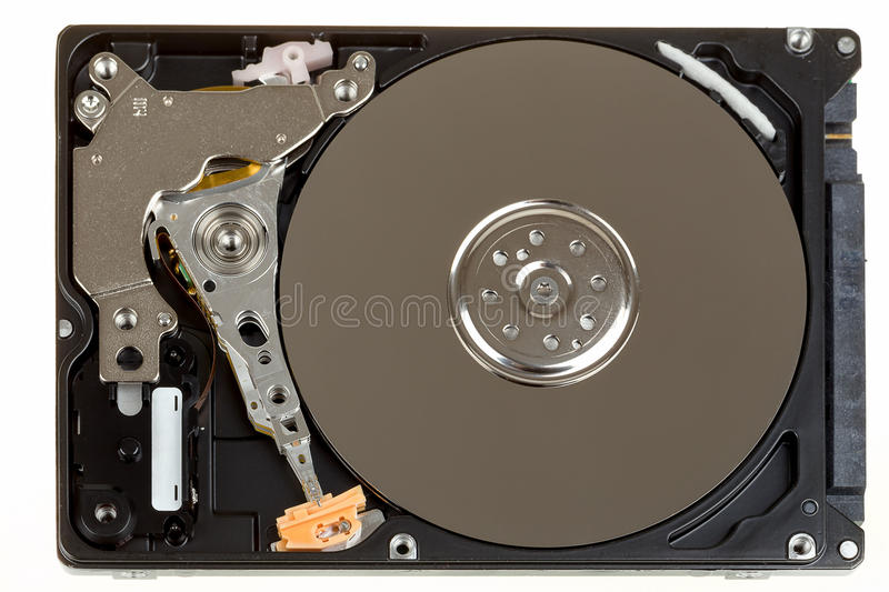 Download Uncovered 2,5 Inch Notebook Hard Drive Stock Image - Image of isolated, internal: 38264197