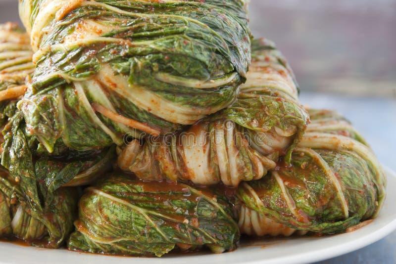 Uncut Kimchi. royalty free stock images