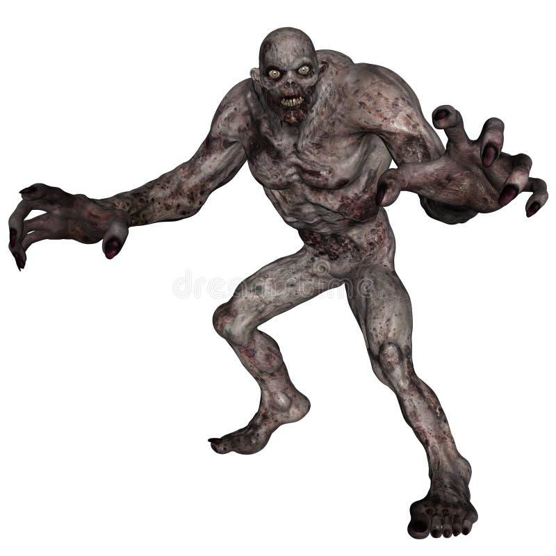 Download Undead creature stock illustration. Illustration of undead - 31383469