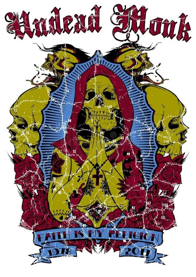 Undead michaelita royalty ilustracja
