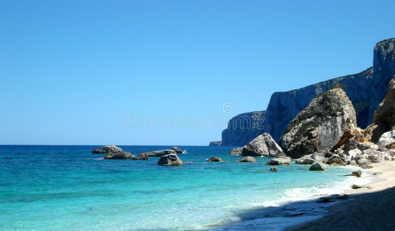 Undefiled beach stock image