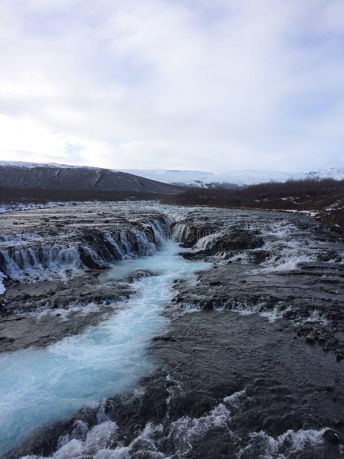 Under av Island arkivfoto