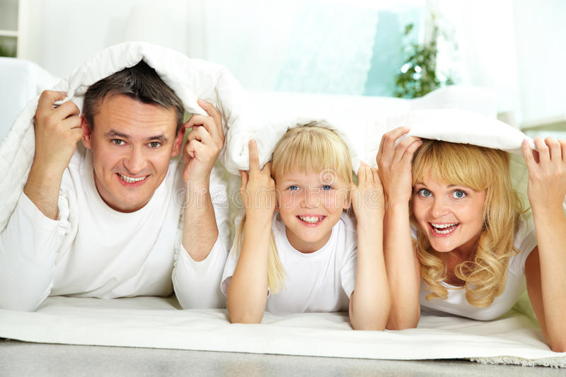 Download Under blanket stock photo. Image of cute, child, lifestyle - 33381486