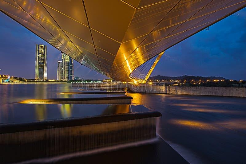 Under the boardwalk @ Putrajaya royalty free stock photos