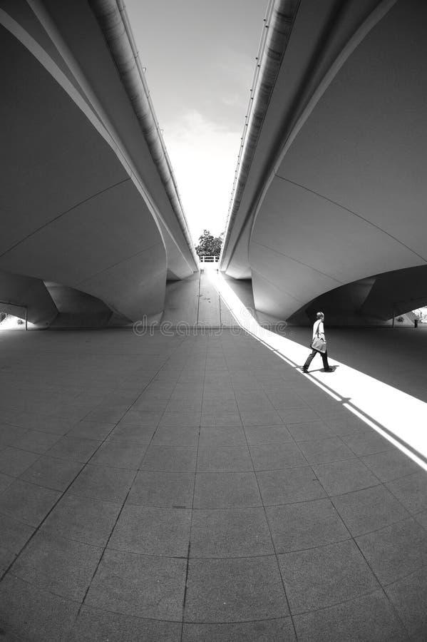 Under A Bridge Stock Photography