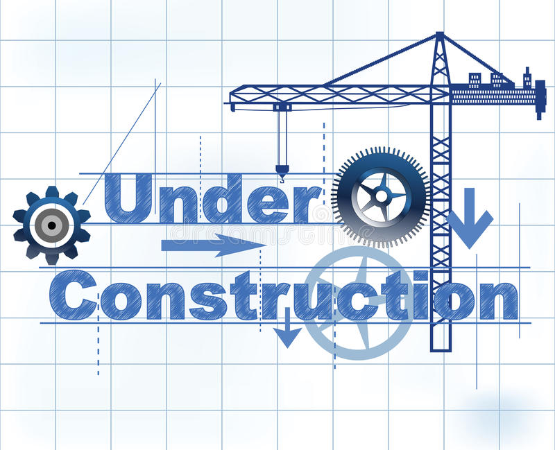 Download Under Construction stock vector. Image of enterprise - 12555496