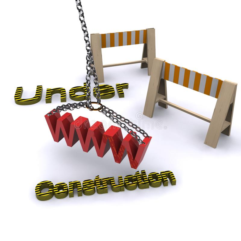 Download Under construction stock illustration. Image of disassemble - 18136419