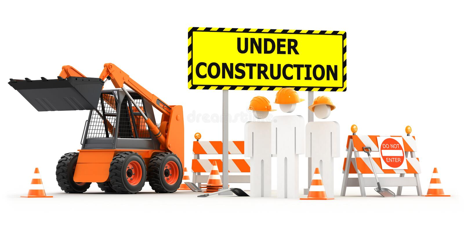 Download Under Construction Royalty Free Stock Photo - Image: 18591815