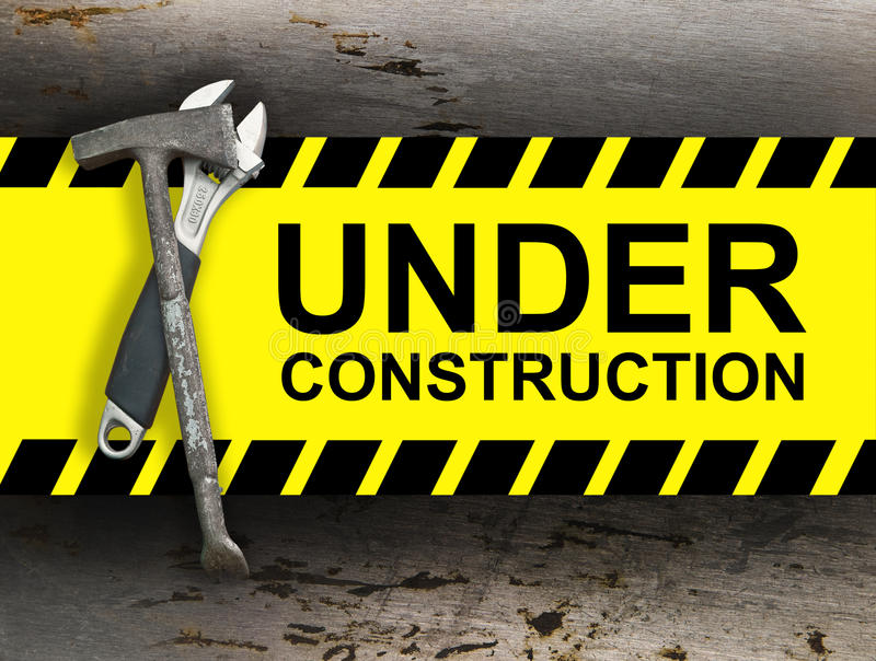 Download Under construction stock photo. Image of construction - 23275356