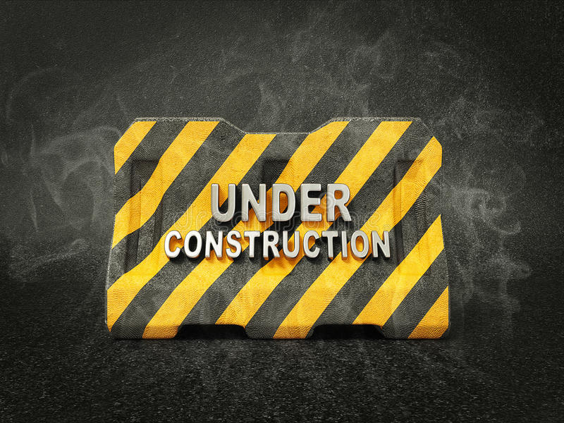 Download Under construction stock illustration. Image of safety - 24773170