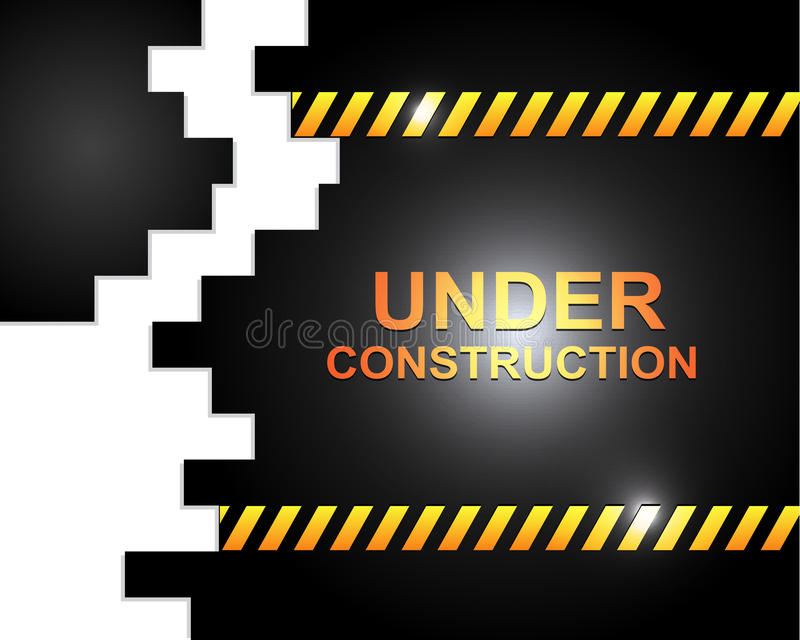 Download Under construction stock vector. Image of connection - 28770059