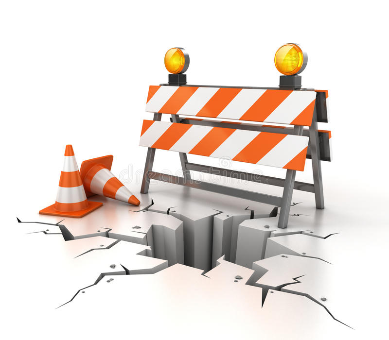 Download Under Construction 3d Illustration Stock Photos - Image: 16801493