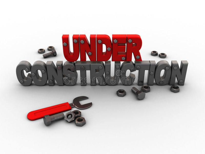 Download Under construction stock illustration. Illustration of wrench - 7414947