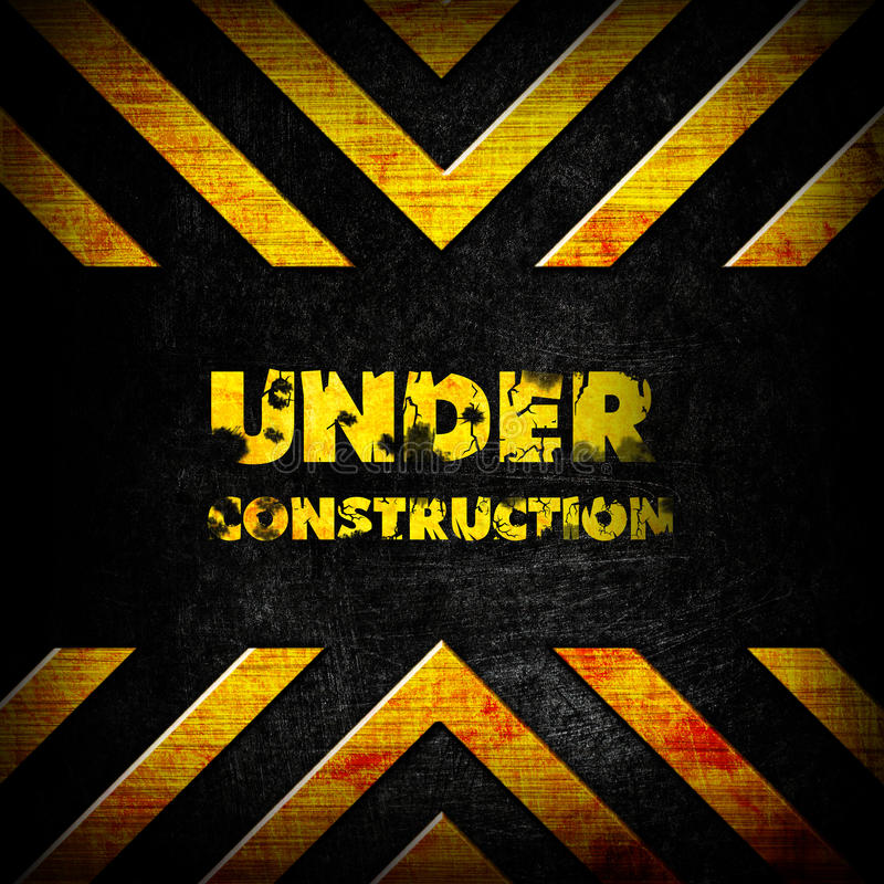 Free Under Construction Background Royalty Free Stock Images - 21232689