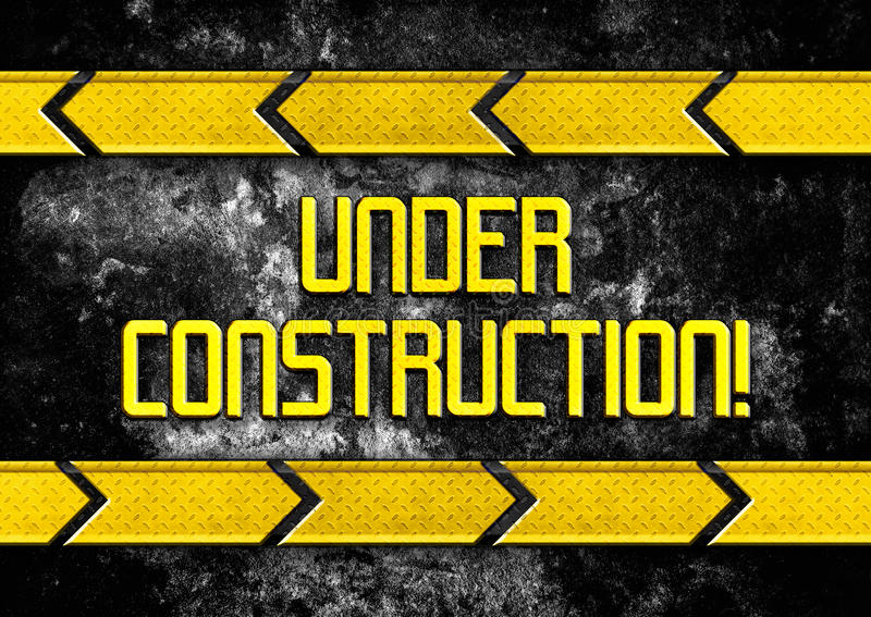 Under construction background stock illustration