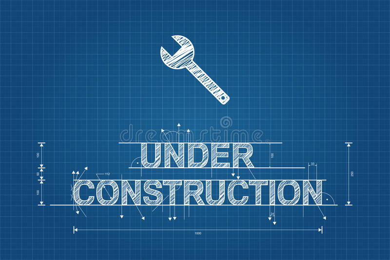Under construction blueprint technical drawing scribble style download under construction blueprint technical drawing scribble style stock vector illustration of outline malvernweather Choice Image