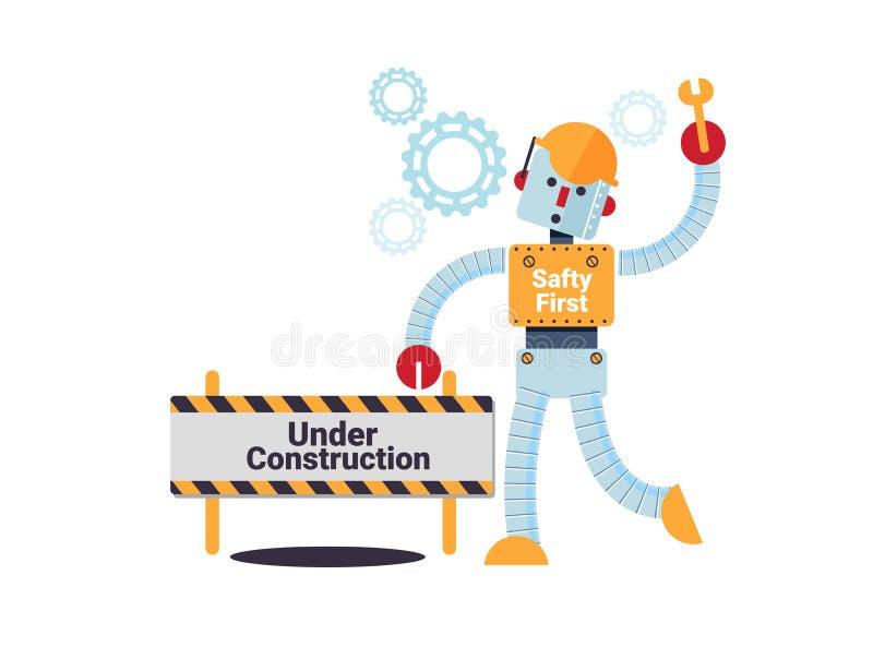 Under construction concept vector illustration stock illustration