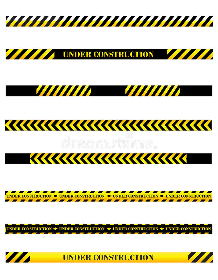 Download Under Construction Dividers Stock Vector - Image: 36374628