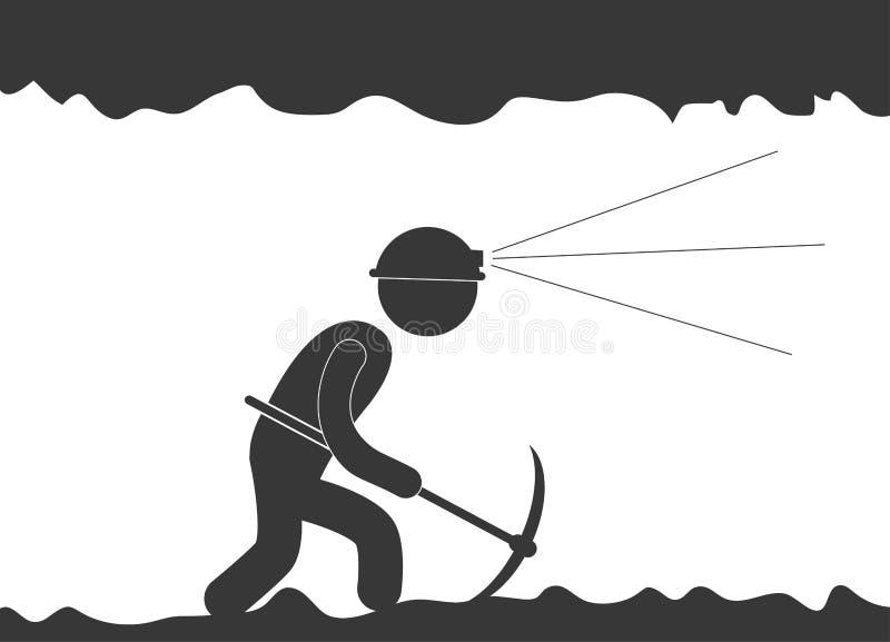 Under construction related pictogram image. Illustration design stock illustration