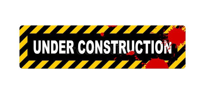 Download Under construction sign stock illustration. Illustration of repair - 7314024