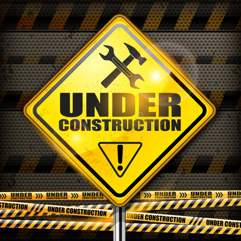 Download Under Construction Sign Rhombus Stock Vector - Image: 31085332