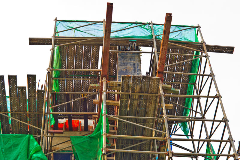 Download Under construction site. stock photo. Image of built - 25615724